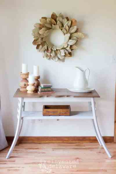 Upcycled Chairs | Sofa Table