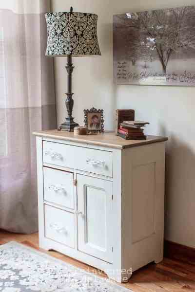 Washstand Makeover