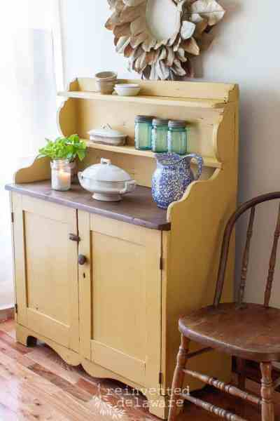 Vintage Pine Cupboard | The Reveal
