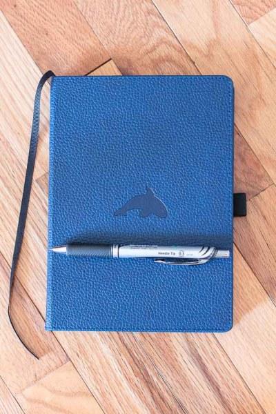 Bullet Journal Set Up 2020