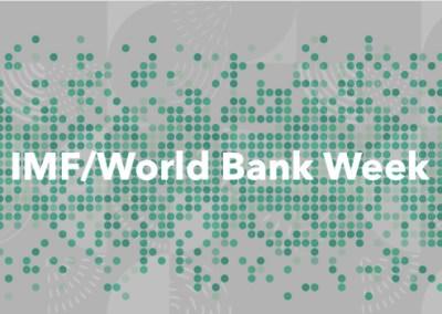 IMF/WB Fall Meetings