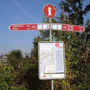 Aare Radweg 6 dagen per trein