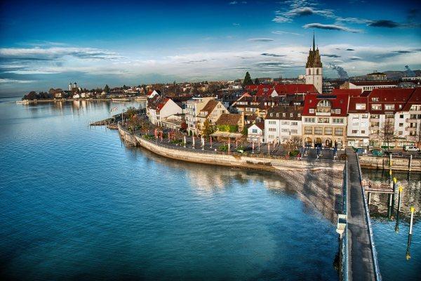Fietsvakantie Bodensee 6 dagen start Konstanz per trein