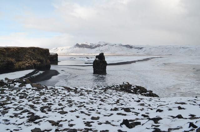 Kirkjufjara, IJsland