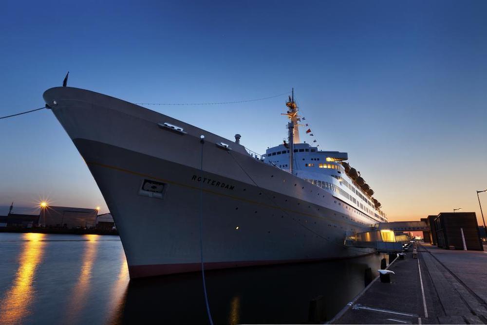 Bijzondere hotels Nederland: SS Rotterdam