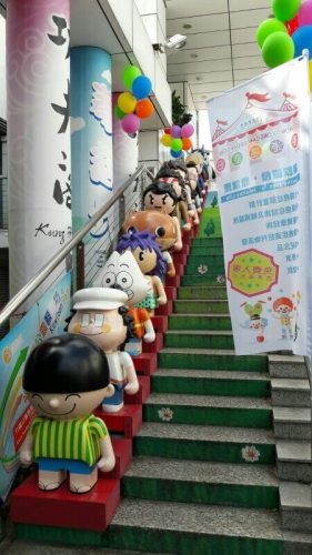 Hong Kong Avenue der Comic Stars