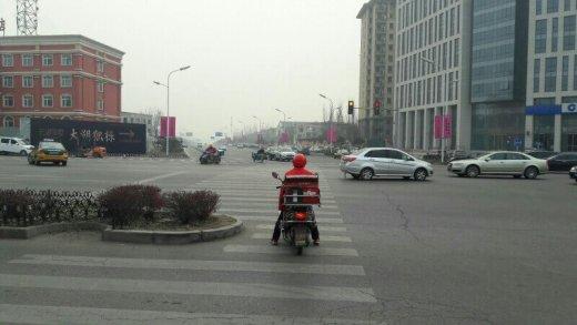 Peking im Winter - grau und kalt