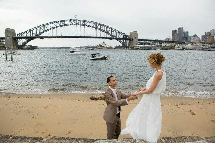 Hochzeit in Sydney
