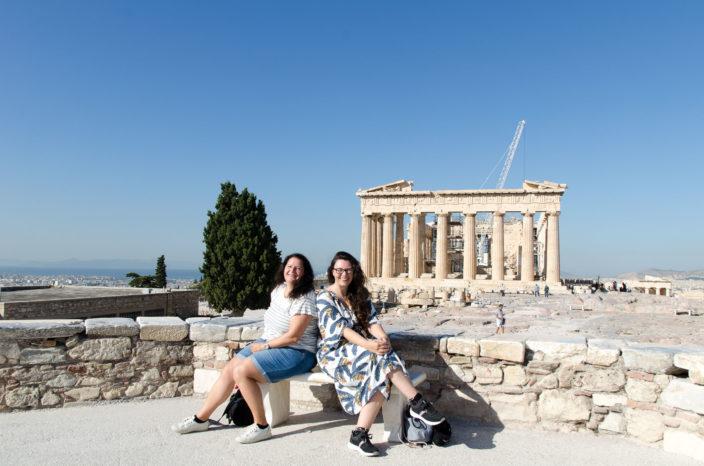 Akropolis Athene met Pantheontempel