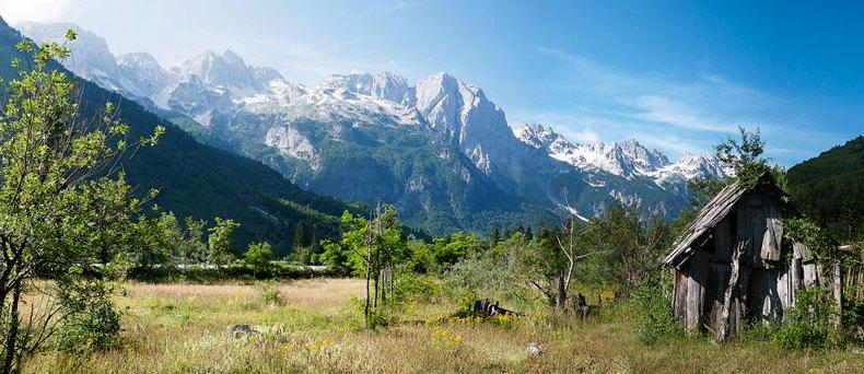Albanische Alpen