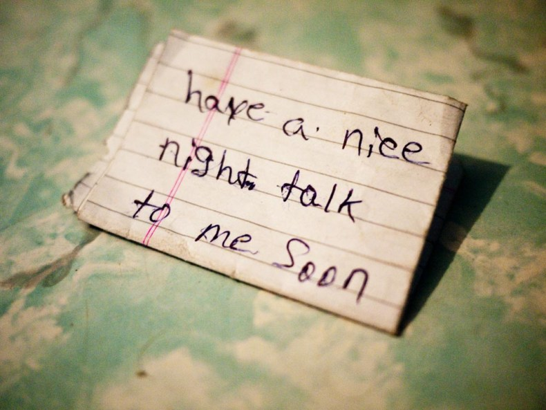 Have a nice night talk to me soon