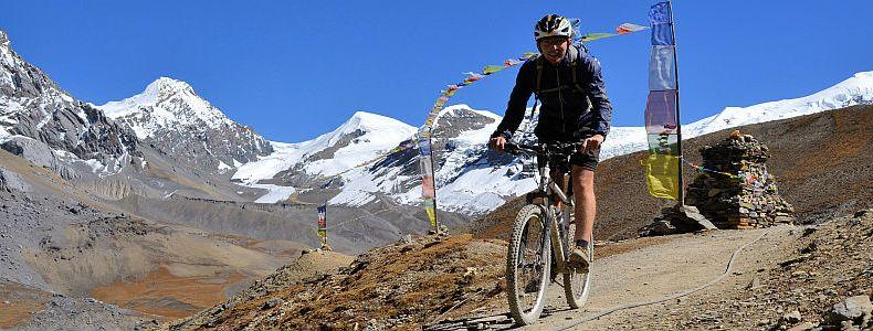Annapurna Runde mit Mountainbike