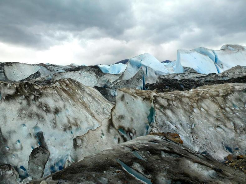 Ice-Trekking auf dem Gletscher Viedma