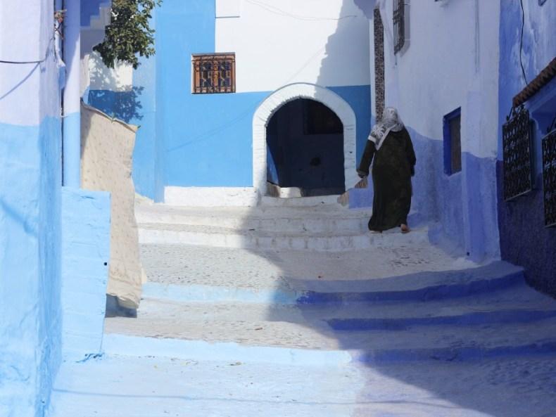 Endlich Marokko! Teil 3: Die blaue Stadt.