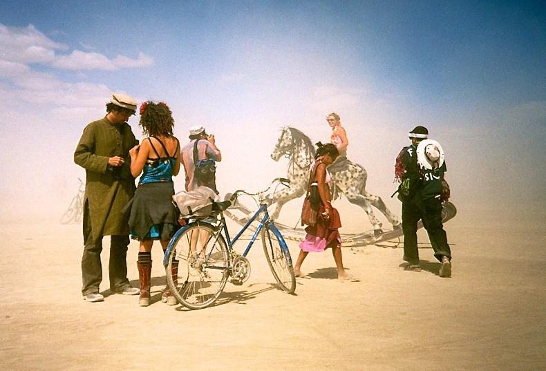 Als Wahrsager auf dem Burning Man