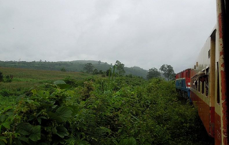 Der Bahn-Basar von Birma