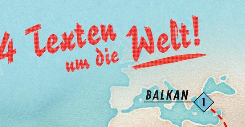 Tag 1: Eine Zigarette im Balkan
