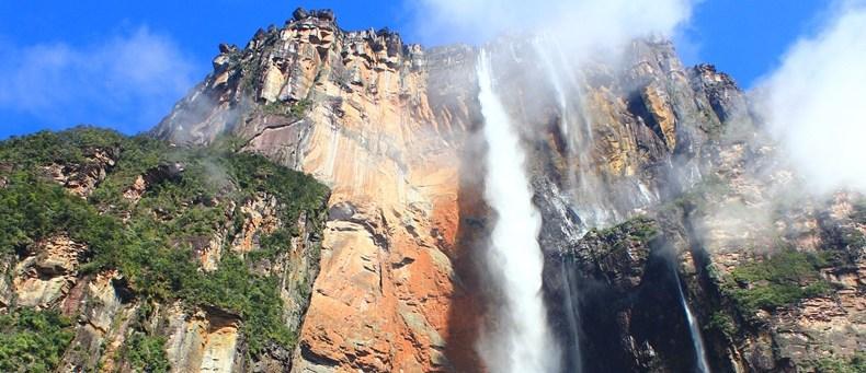 Die höchste Dusche der Welt