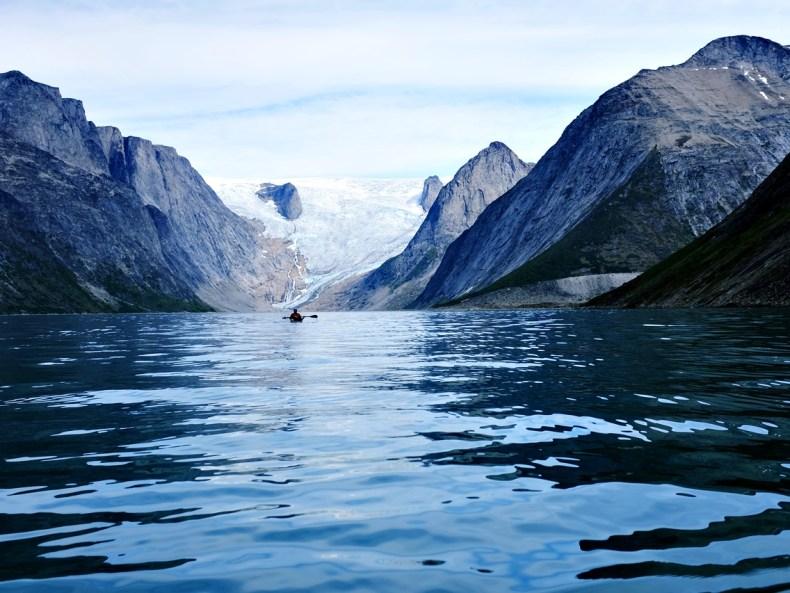 Grönland, vom Kajak aus