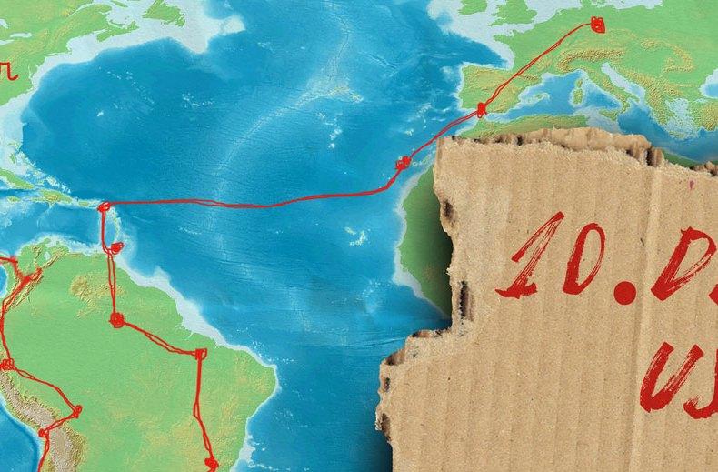 Von Leipzig nach Alaska per Anhalter: USA, der erste Kulturschock (10)