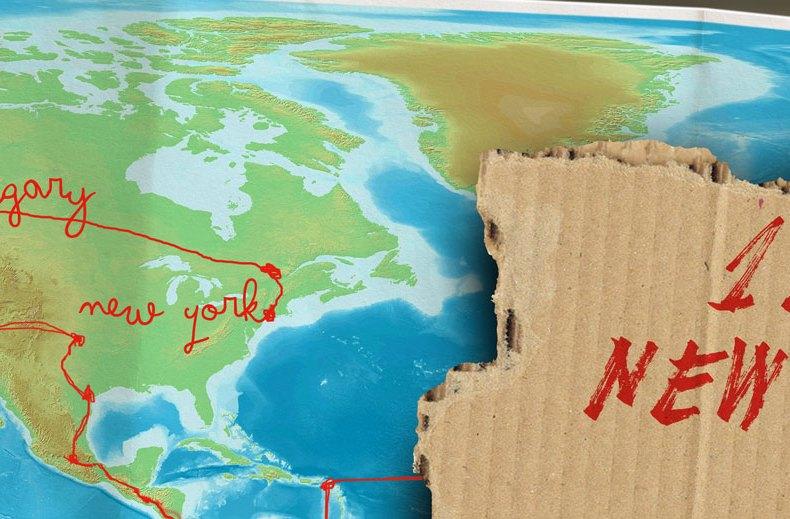 Von Leipzig nach Alaska per Anhalter: Das Scheitern und New York (12)