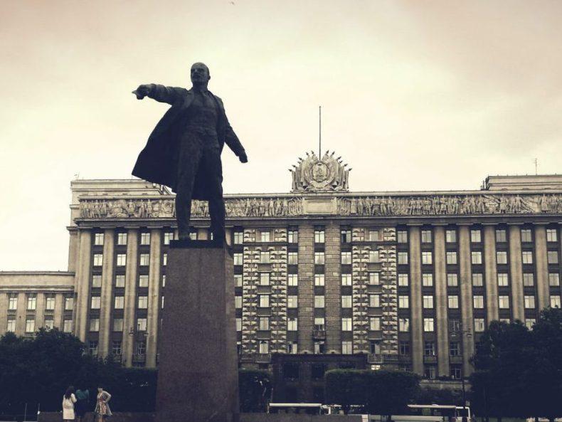 Eine Russin in Paris