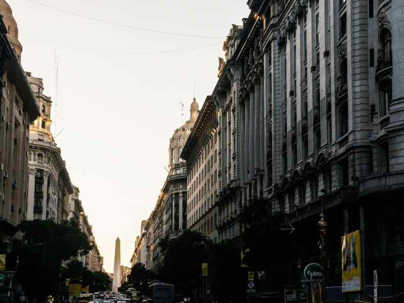 Abschied in Buenos Aires
