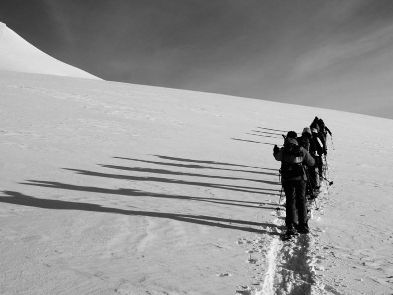 Zu Fuß durch Spitzbergen