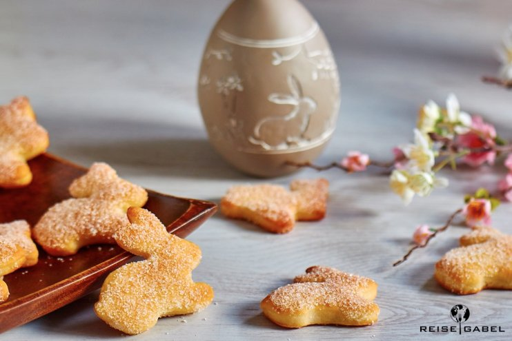 sugared easter bunnies
