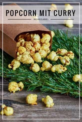 Popcorn mit Curry
