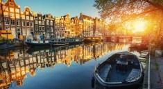 Amsterdam im Herbst (Bigstock Standret)