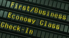 Fliegen: First Class am Ende? (F: Bigstockphoto.com / Lammeyer)