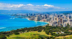 Die Skyline von Hawaiis Hauptstadt Honululu (F.: Bigstockphoto.com/Izabela 23)