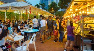 Food Court in Singapur (F: bigstock / joyfull)