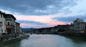 Blick von der Ponte Vecchio (F: Prazak)