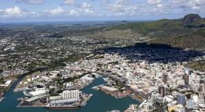Blick auf Port Louis (FVA Mauritius)