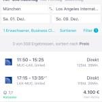 Flugreisen Buchung Smartphone PC @reisekompass.at