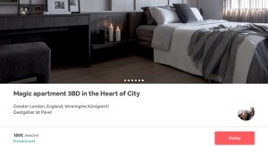 Fake Inserate AirBnB Screenshot Reisekompass
