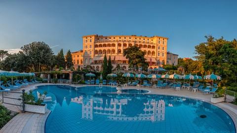 Das Hotel Kvarner Palace in Crikvenica (Foto: beigestellt)