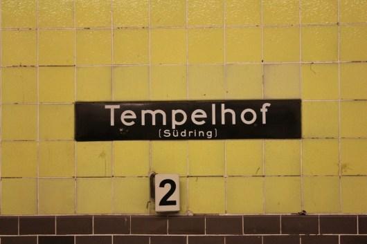 Canon 100 d - Tempelhof Berlin Herbst Ubahn