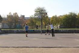 Basketball, Mauerpark, Berlin