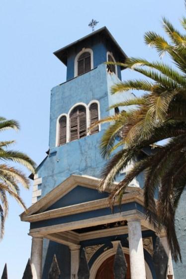 Santiago de Chile, Südamerika Kirche