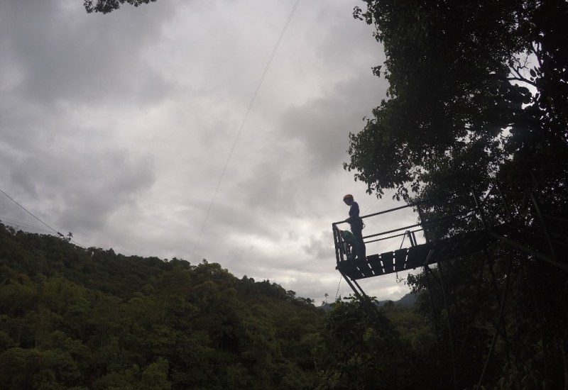 Bungee in Mindo