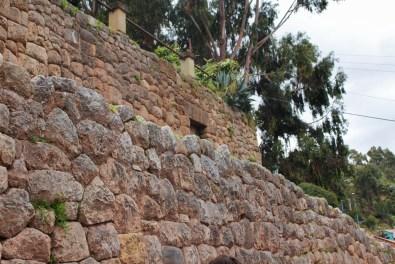 Cusco ist die alte Hauptstadt der Inkas und die Hauptstadt der Provinz. UNESCO, Weltkulturerbe, Machu Picchu, Inka, Quechua, Pizarro, Peru, Stadtmauer