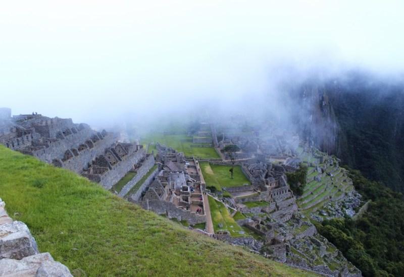 Machu Picchu am Morgen