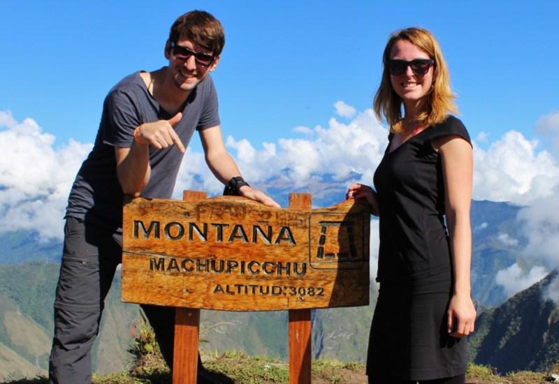 Wir haben den Montana erklommen