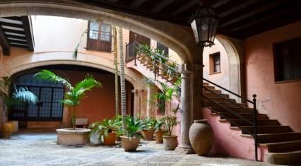 Innenhof in der Altstad Palmas