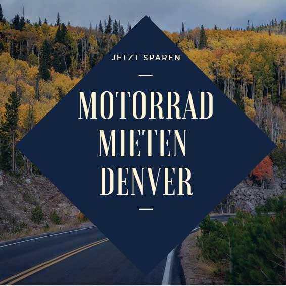 Motorrad mieten Denver