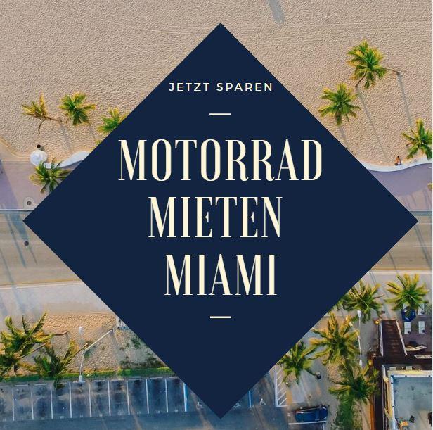 Motorrad mieten Miami