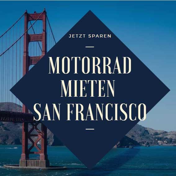 Motorrad mieten San Francisco